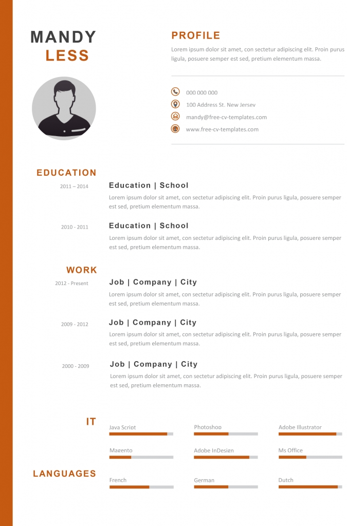 Creative Cv Templates Land The Job With Our Free Word